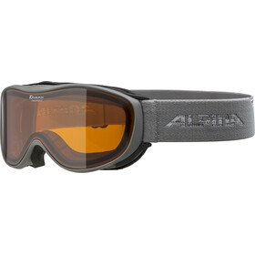 Alpina Challenge 2.0 Doubleflex S2 Lunettes de protection, grey/orange